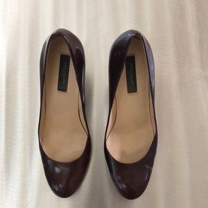 Ann Taylor Burgundy Perfect Pump size 7m